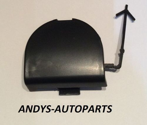 FIAT 500 2007 ONWARDS FRONT TOWING EYE COVER PAINTED ANY FIAT COLOUR